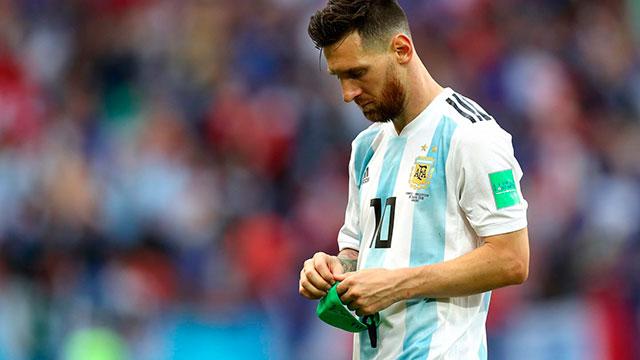 Lionel Messi no jugará en la Selección Argentina en lo que resta del 2018