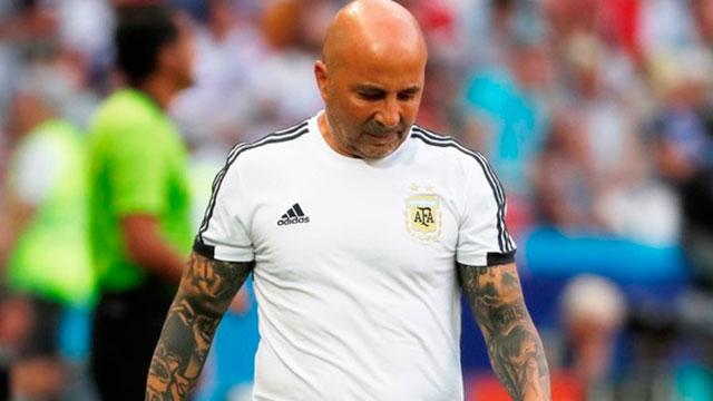 Jorge Sampaoli no dirigirá al seleccionado nacional Sub 20.