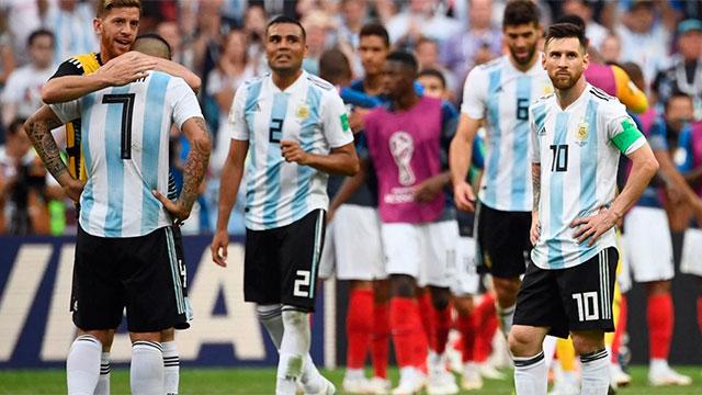 Argentina quedó 11° en el reciente ranking FIFA.