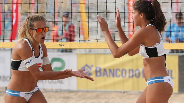 Las chicas argentinas quedaron lejos en Brasil.