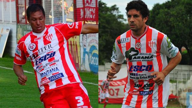 Ale y maxi buscarán un nuevo ascenso con la casaca de Atlético Paraná.