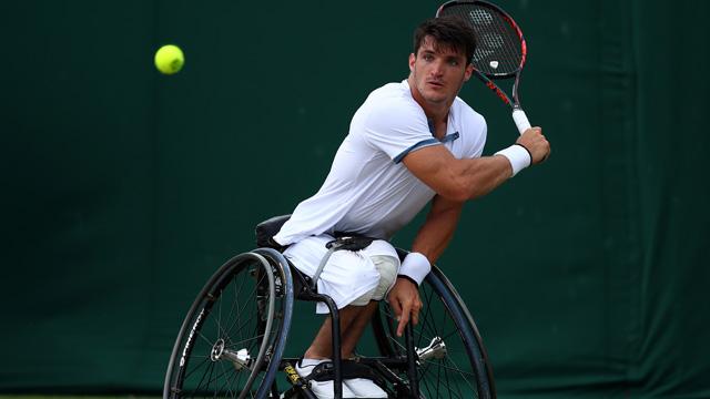Gustavo Fernández no pudo y cayó en la final de Wimbledon