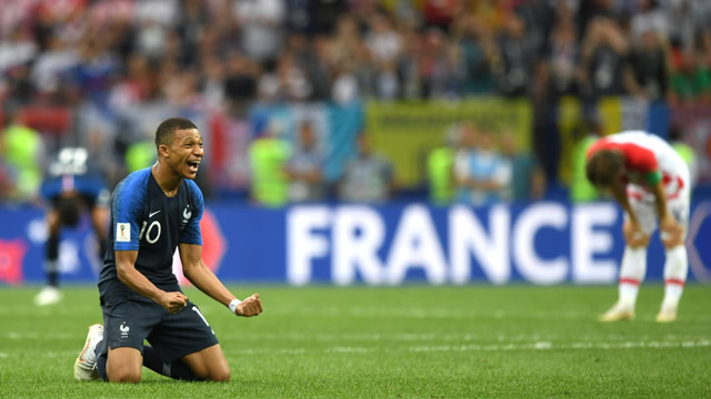 Francia alcanzó su segunda copa del mundo.
