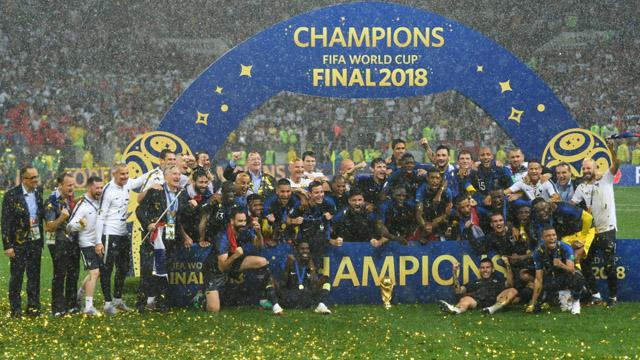 Bicampeón: Francia venció en un gran final a Croacia y se coronó Campeón del Mundo