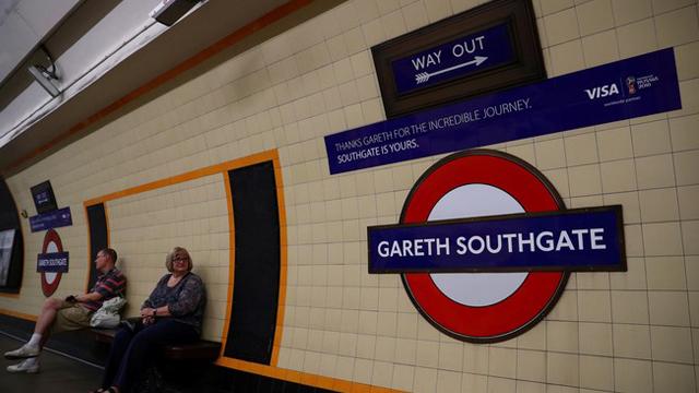 A la estación Southgate se le entregará el nombre Gareth en homenaje al DT.