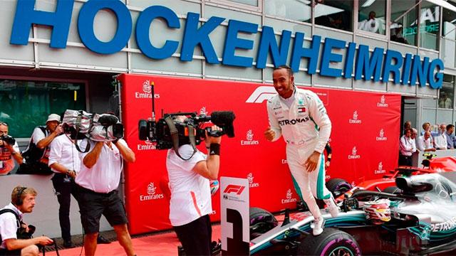Lewis Hamilton tuvo una espectacular remontada.