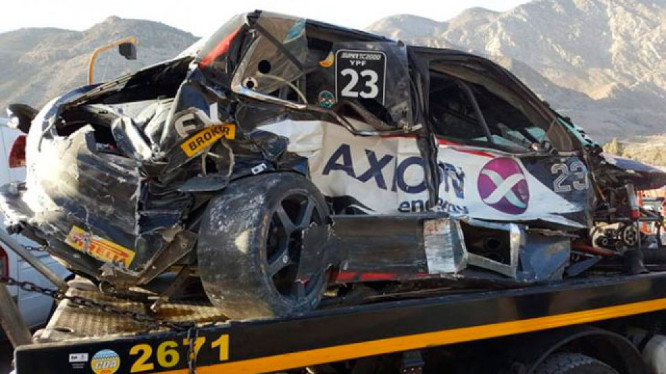 Impresionante accidente de Milla en San Juan.