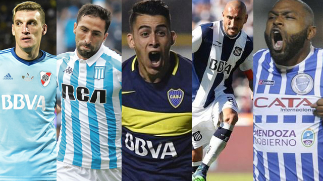 Los mejores de la última temporada de la Superliga Argentina de Fútbol.