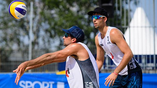 Azaad y Capogrosso jugarán tres torneos en China y EEUU.