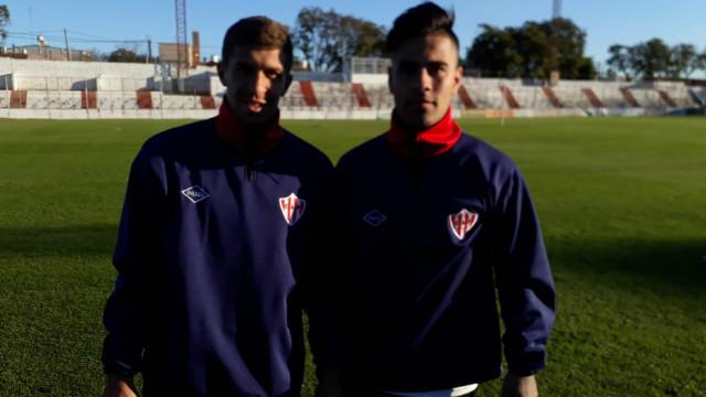 El Vikingo Mauri y Lorenzo González ya entrenaron con el Decano.