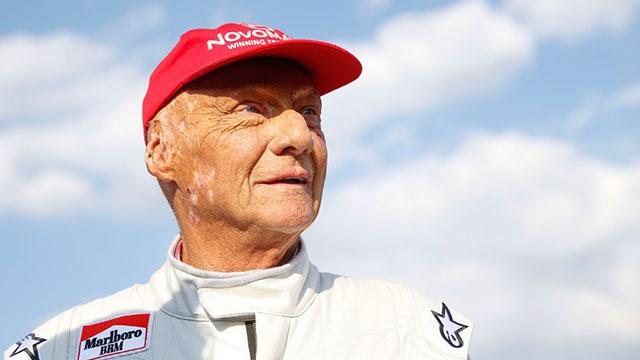 Murió Niki Lauda, tres veces campeón de la Fórmula 1