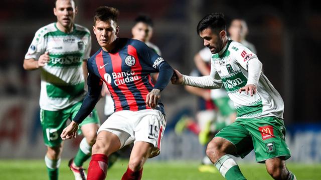San Lorenzo juega en Chile y buscará avanzar a octavos.