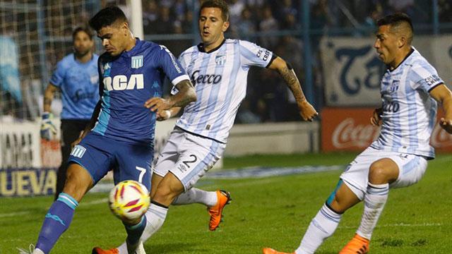 Superliga: Racing no pudo mantener la diferencia y Atlético Tucumán lo empató en el final
