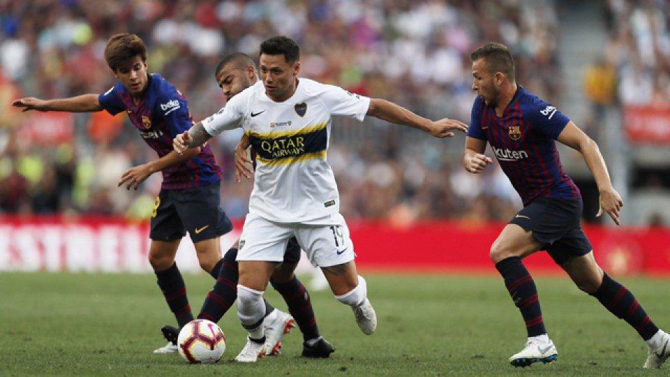 Barcelona fue superior a Boca y se quedó con el Trofeo Joan Gamper.