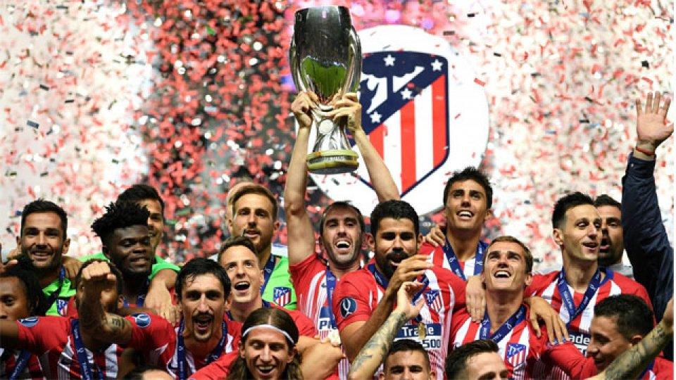 El Aleti del Cholo festejó un nuevo título al imponerse en el Derby Madrileño.