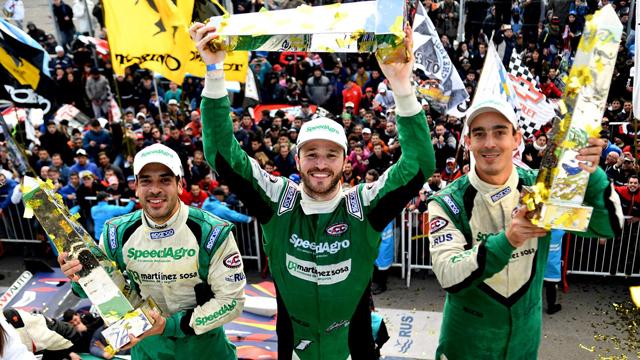Canapino, junto al concordiense Ponte, ganó la segunda edición de los 1000 km