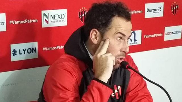 Pumpido analizó la actualidad de su elenco en la Superliga.