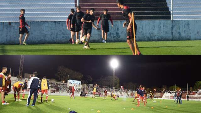 Patronato y Atlético Paraná se enfrentan en el Grella en un amistoso.
