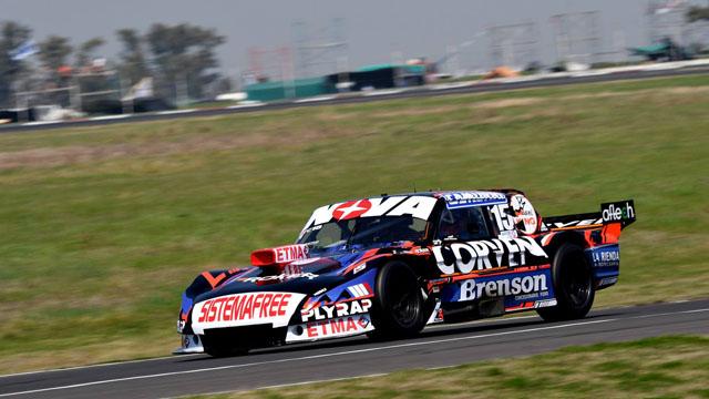 Matías Rossi logró el mejor registro en Paraná.