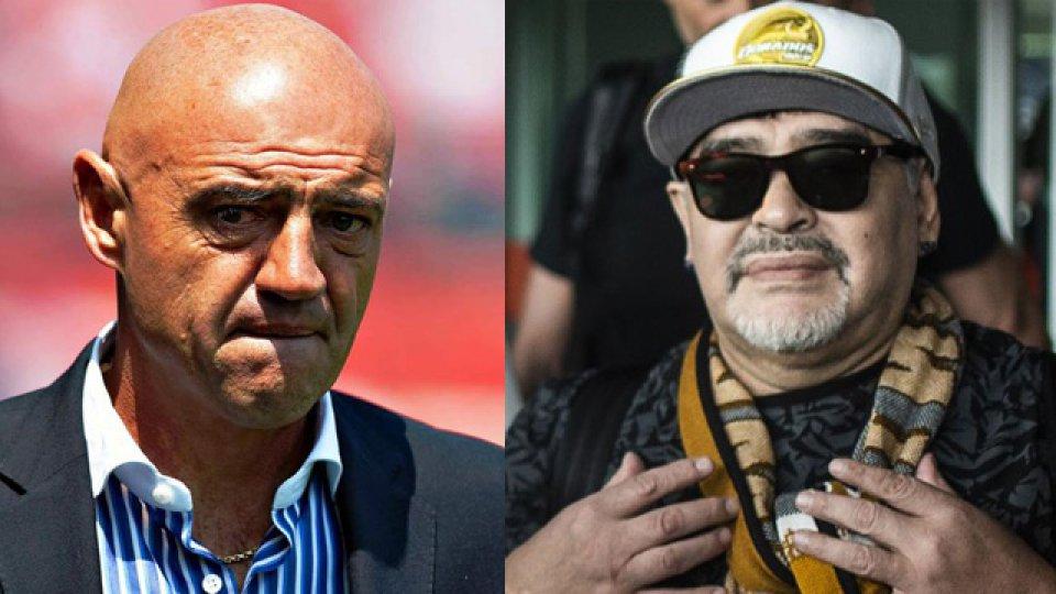 """""""Maradona es un ser humano del cual se están aprovechando"""", señaló Chelís."""