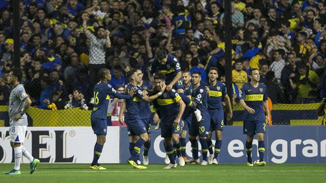 Boca supera a Cruzeiro en La Bombonera