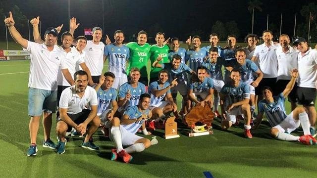 Los Leones se coronaron campeones en el Cuatro Naciones de Australia