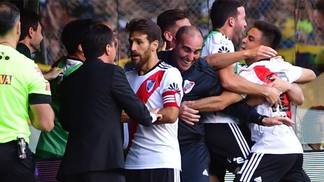 River golpeó nuevamente y supera a Boca en La Bombonera
