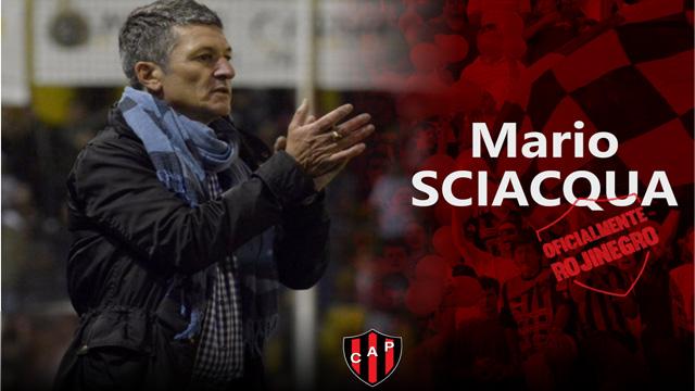 Mario Sciacqua se convirtió en el flamante entrenador de Patronato