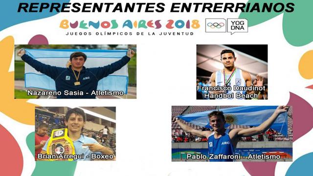 Los Entrerrianos Que Participan En Los Juegos Olimpicos De La