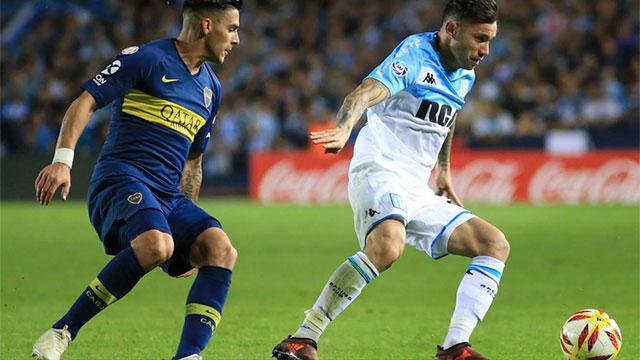 Racing igualó con Boca y no pudo aumentar la ventaja en la Superliga.
