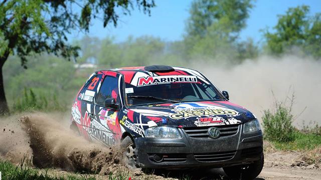 El Rally Entrerriano pasó por Gualeguay.