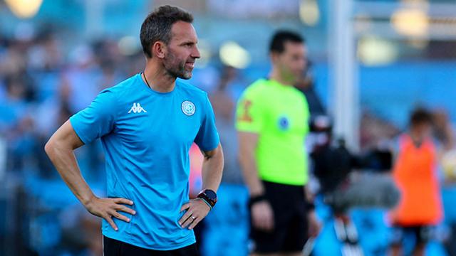 Bernardi logró un sólo triunfo en ocho partidos al frente de Belgrano.