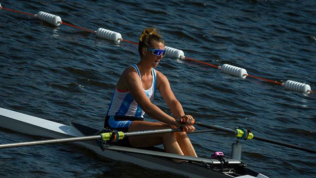 El remo le dio primer medalla de oro a la delegación Argentina.