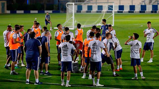 La Selección Argentina se prueba ante Irak en la antesala del clásico con Brasil