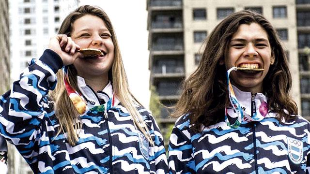 Agustina Roth y Iñaki Mazza le dieron la segunda medalla de oro a Argentina.