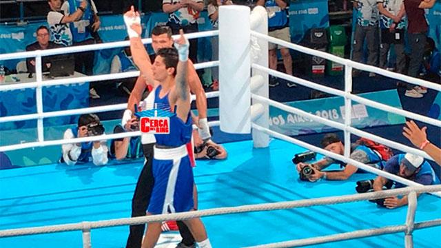El entrerriano Brian Arregui se aseguró una medalla en los Juegos de la Juventud