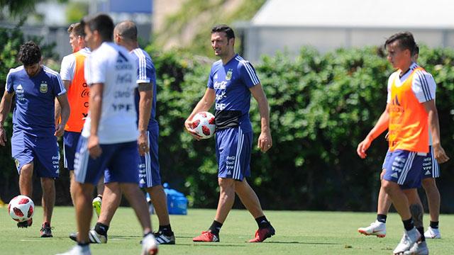 La Selección argentina empezó su preparación de cara a los amistosos con México
