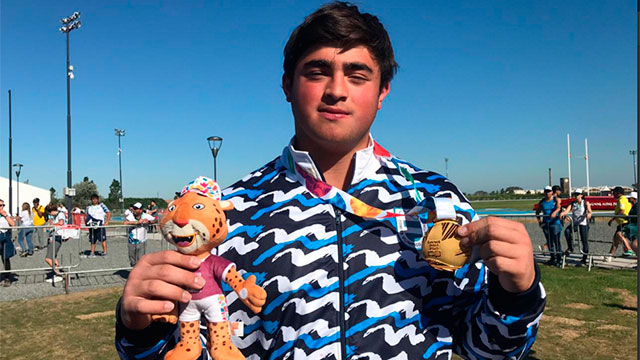 Nazareno Sasia, tras la medalla dorada: