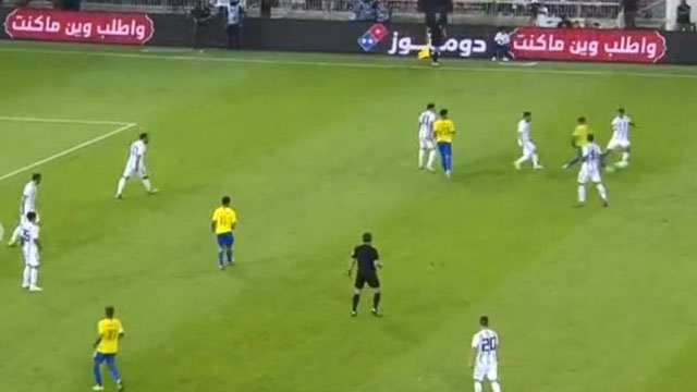 Argentina cayó en el último minuto frente a Brasil
