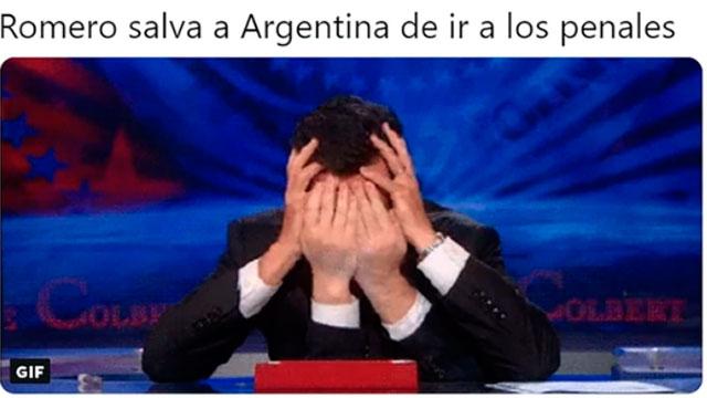Sergio Romero en el blanco de las críticas.