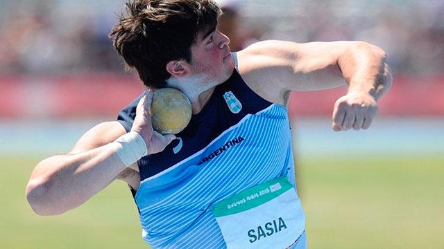Nazareno Sasia, la figura más relevante del Atletismo de cara al futuro