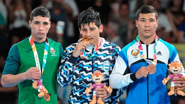 El entrerriano Brian Arregui ganó y es medalla de oro en Boxeo.
