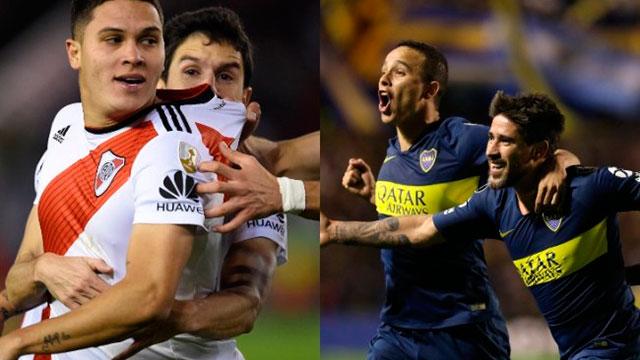 Están confirmados los árbitros para las semifinales de River y Boca.