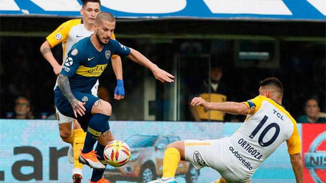 Superliga: Boca y Rosario Central igualaron sin goles en la Bombonera