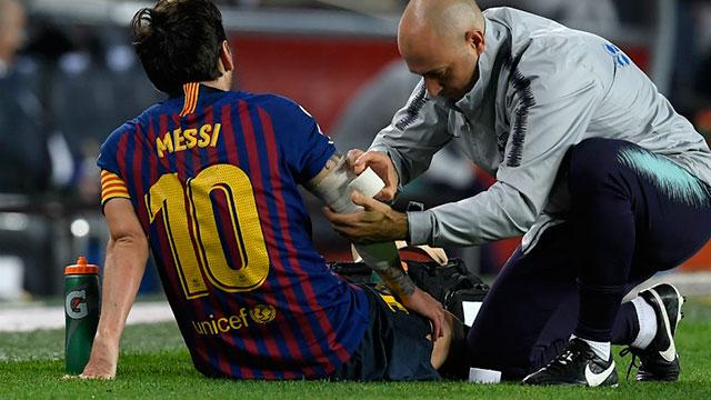 La lesión de Messi: los partidos que se perderá y el adiós a la posible vuelta a la Selección