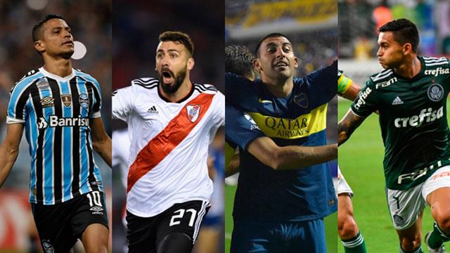 Las semifinales de la Copa Libertadores comenzarán este martes.