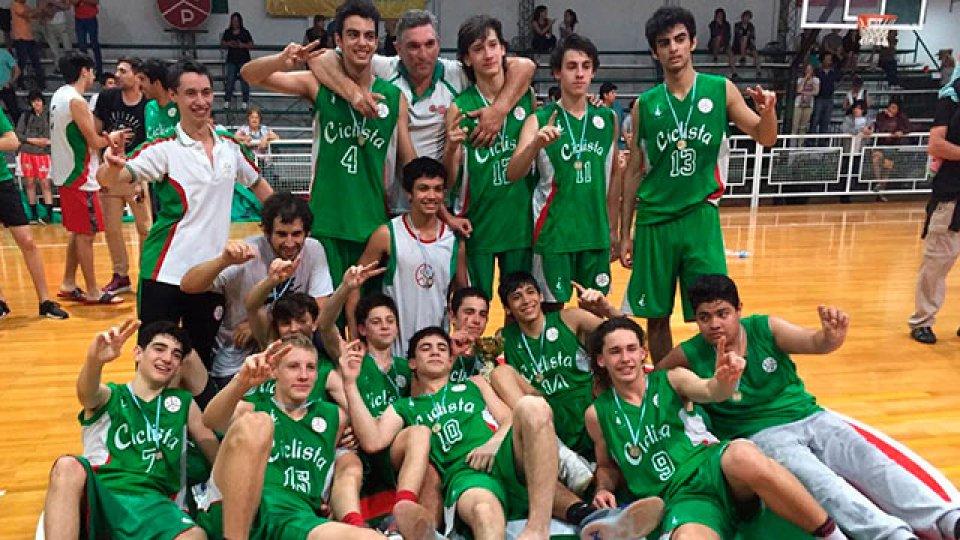 Ciclista logró el título en el Campeonato Argentino U15.