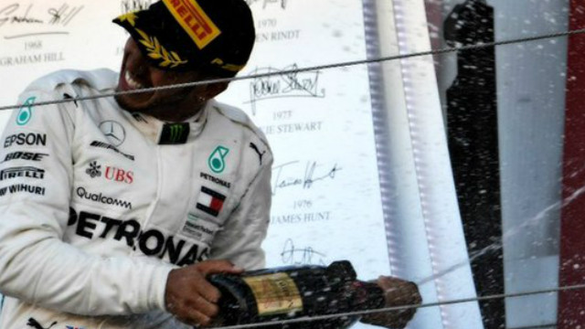 El británico fue campeón de la F1 en 2008, 2014, 2015, 2017, 2018.