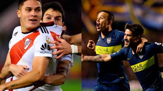 Gremio-River y Palmeiras-Boca, por un lugar en la final.