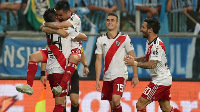 River consiguió un triunfo agónico ye está en la Final de la Libertadores.